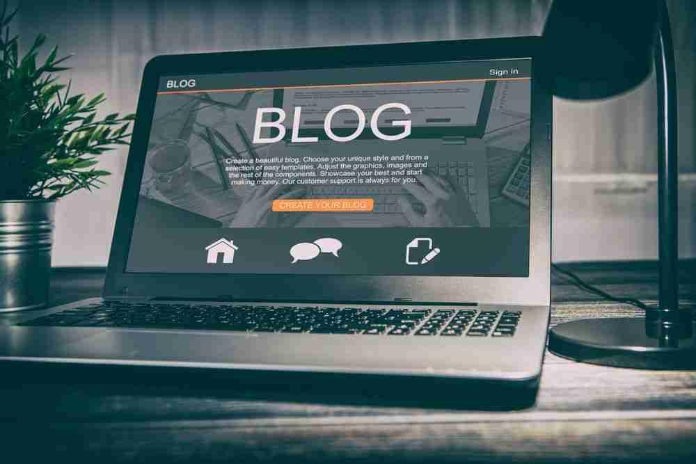 Blog met wordpress maken