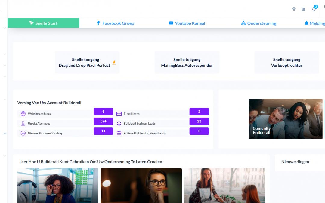 Website design met builderall. Met deze webbuilder maak je fantastische websites!